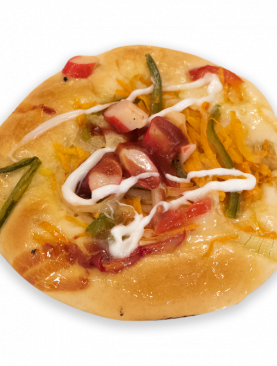 Pizza Vegetable Sweet Bun